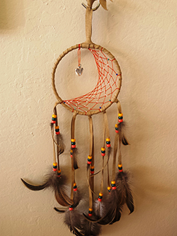 4 in moon- Dreamcatchers-S&S Handcrafted Art & Gifts