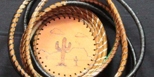 Free Form Pine Needle Basket