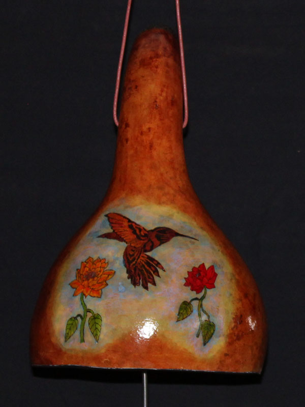 Orange Hummingbird Thunder Drum