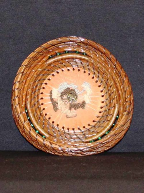 Pine Needle Basket with Tenifree Stitching