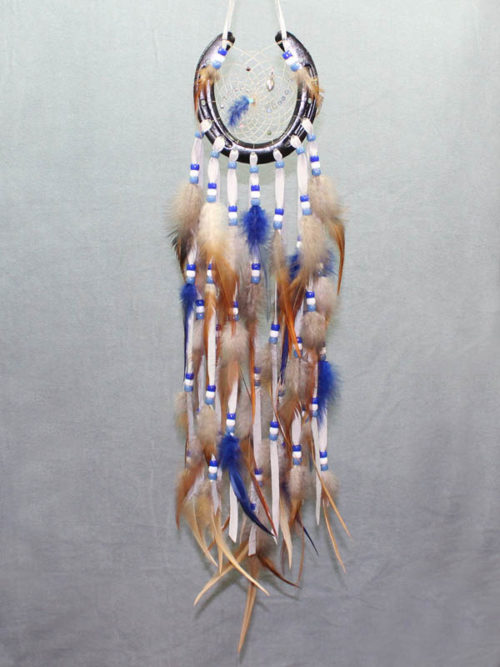 Black Horse Shoe Dream Catcher