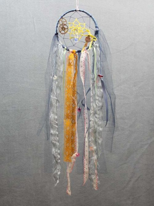 Blue Single Shabby Chic Dream Catcher