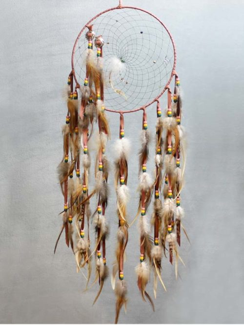 Burgundy Single Dream Catcher