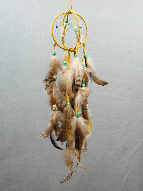 Goldenrod Double Dream Catcher