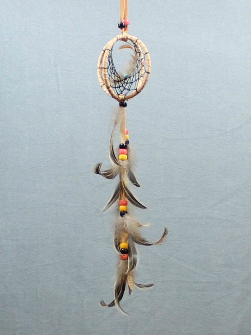 Peach Double Dream Catcher