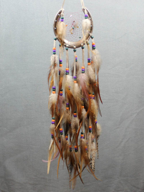 Silver on Silver Horse Shoe Dream Catcher