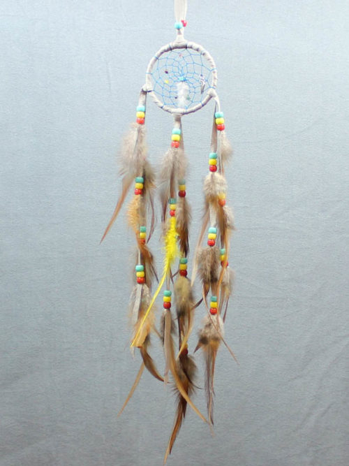 Small Grey Single Dream Catcher