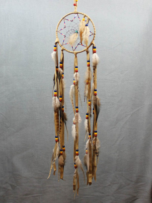 Tan Star Single Dream Catcher