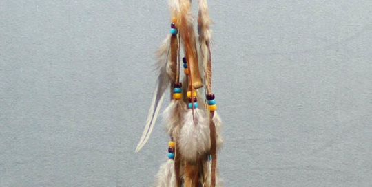 Tiny Tan Single Dream Catcher