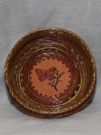 (Butterfly) Pine Needle Basket